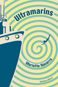 Mariette Navarro est au Marque Page à Quintin.